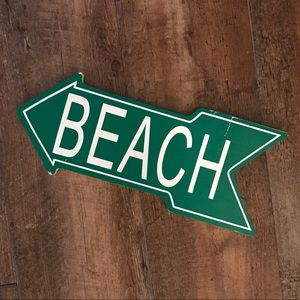 Other - Distressed Beach Wall Sign
